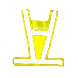 Equisafety hi viz reflective body harness-0