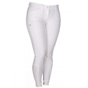 Carina Full Grip Breeches White-0