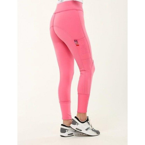 Chill Out Pull Up Leggings with Silicone Knee-0