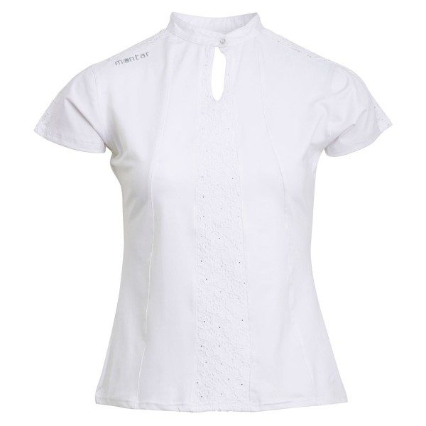 Montar Rae White Competition Shirt Lace-0